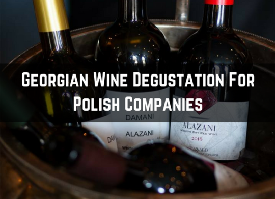 wine degustation for polish companies