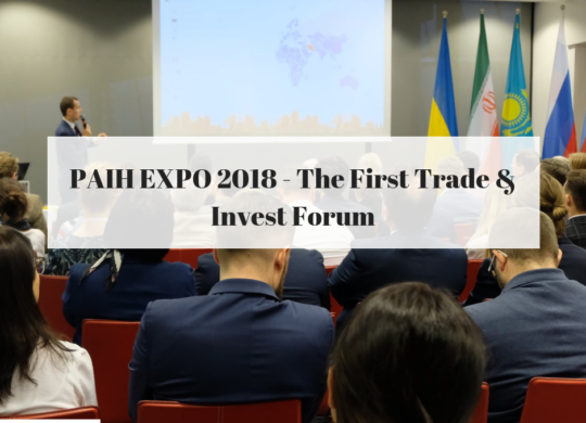 PAIH EXPO 2018 - The First Trade & Invest Forum1