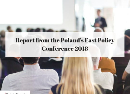 Report from POLAND'S EAST POLICY 2018 (1)