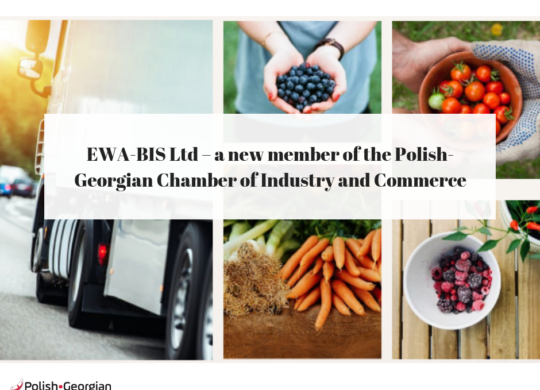 PiastPoL - a new member of The Polish-Georgian Chamber of Industry and Commerce